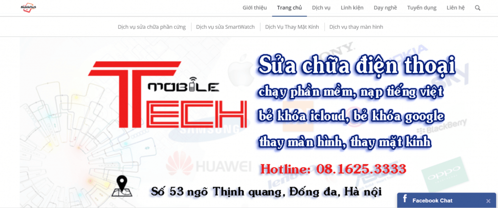 MobileTech Center – Sửa Điện Thoại tối ưuHà Nội