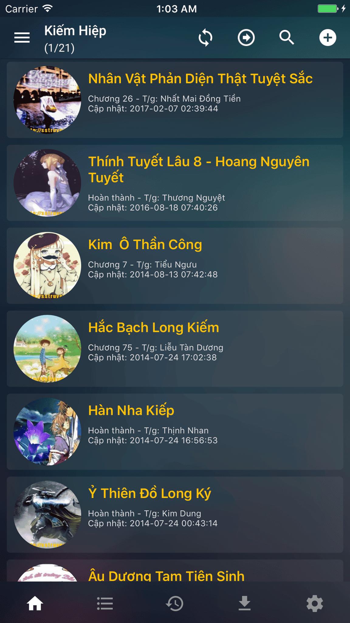 Ứng dụng đọc truyện online offline tốt nhất Việt Nam.