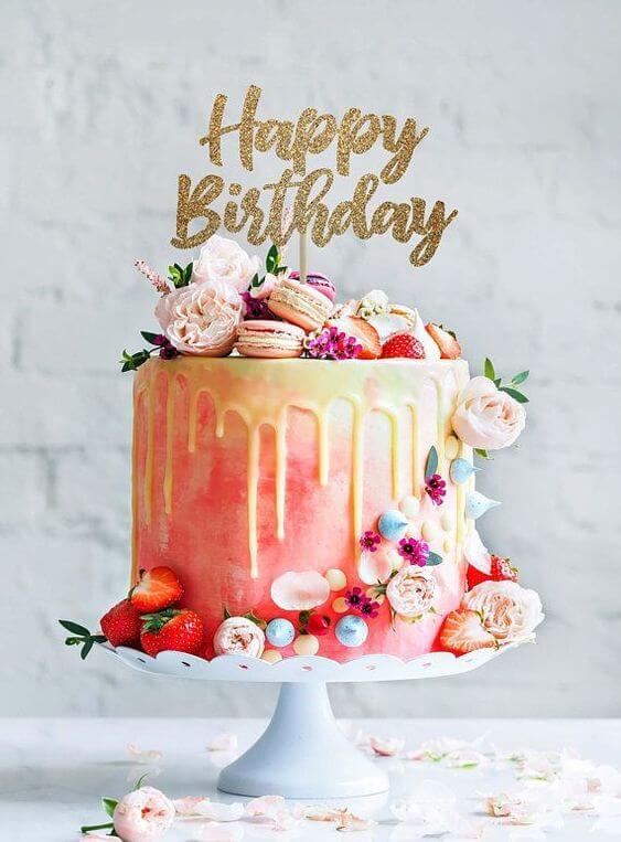 Mẫu bánh sinh nhật đẹp