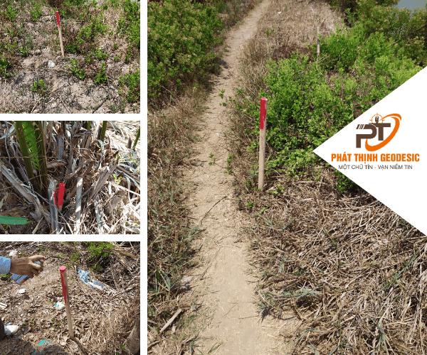 Thực hiện xác định ranh và triển khai mốc giới xuống thực địa tại Bình Chánh