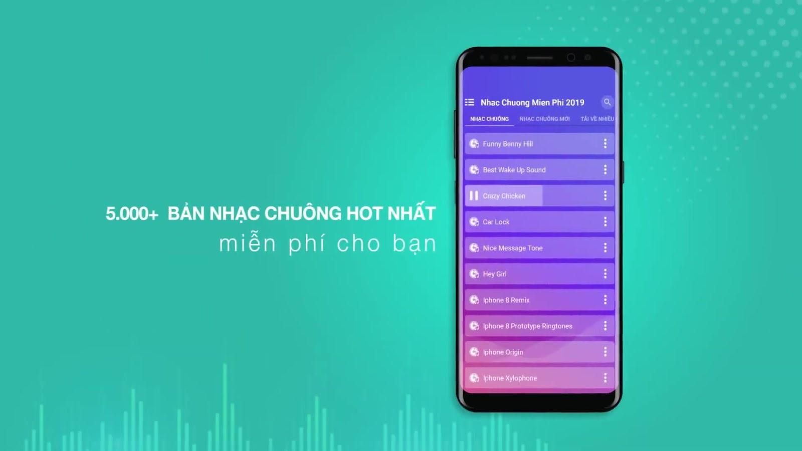 Website tải nhạc chuông net miễn phí đa dạng