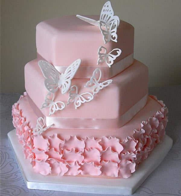 Mẫu bánh sinh nhật ba tầng đẹp