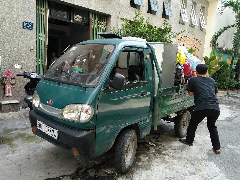 Xe ba gác rất tiện lợi nên được ưa chuộng ở khắp nhiều nơi
