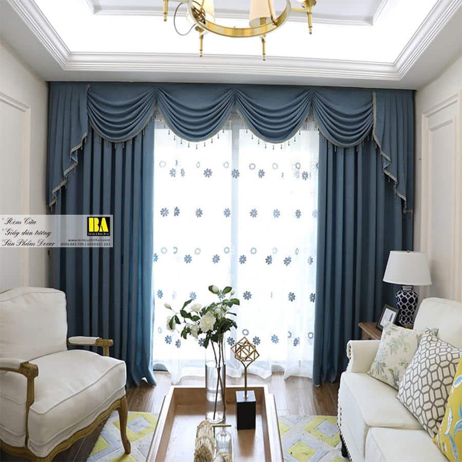 Rèm cổ điển phong cách Châu Âu | Màn cửa cao cấp nhà ở, biệt thự ...