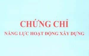 Cap Chung Chi Nang Luc Hoat Dong Xay Dung