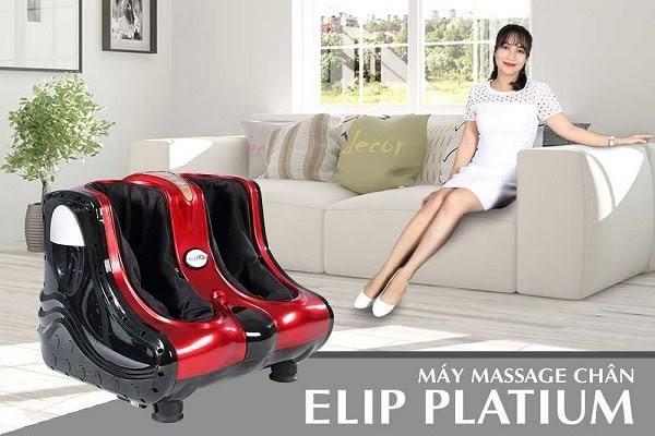 Máy massage chân Elip Platium