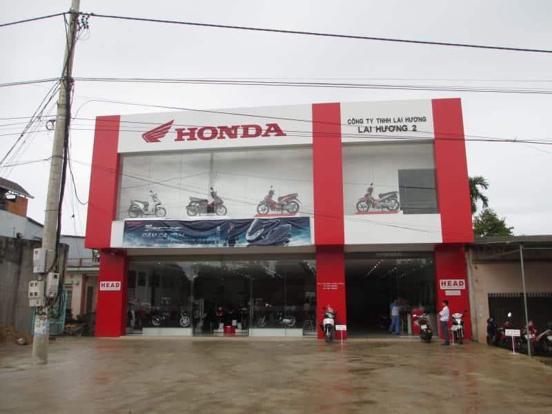 đại lý honda ở Đắk Lắk Cửa hàng Head Lai Hương