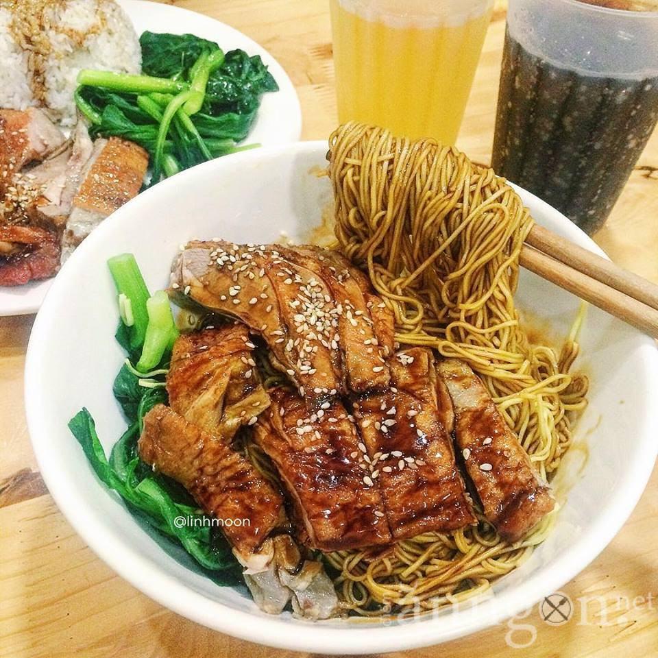 1. Mỳ Vịt quay - Jacky Vịt quay Bắc Kinh - Điểm ăn ngon