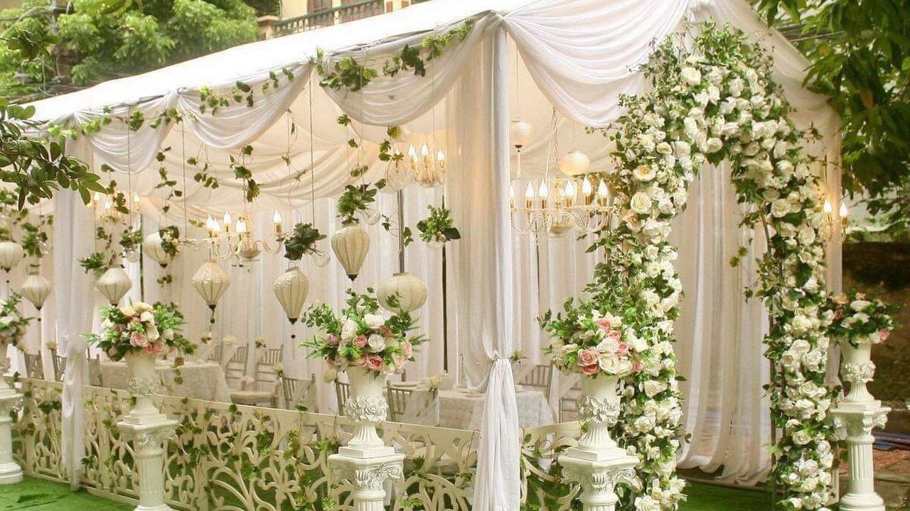 Dịch vụ trọn gói trang trí nhà ngày cưới giá rẻ dưới 5 triệu dành cho các cặp đôi