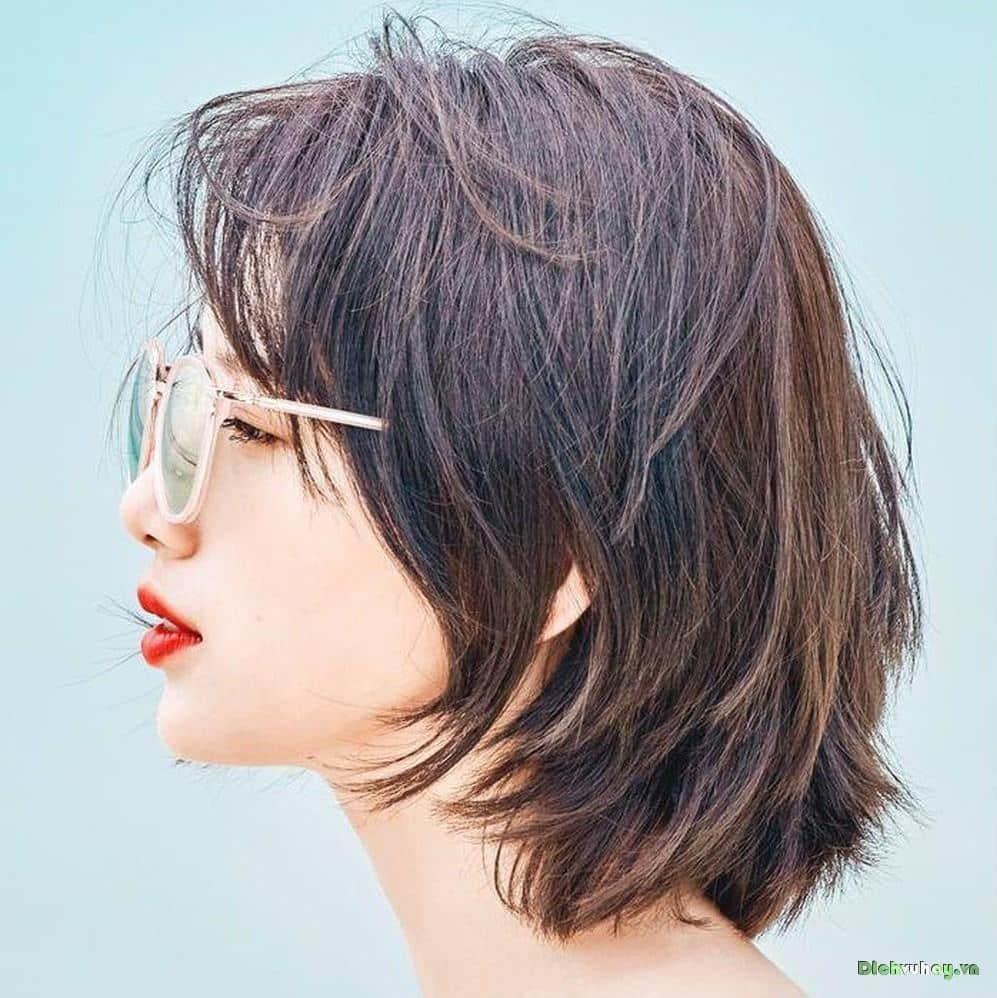Review những kiểu tóc ngắn đeo kính đẹp nhất tháng 11 2020 - Dịch vụ Hay Dịch vụ Hay