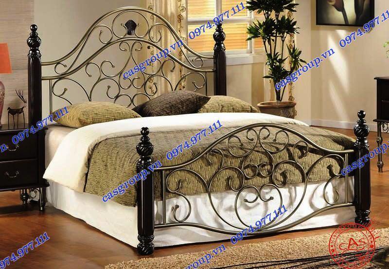 Giường ngủ sắt sang trọng