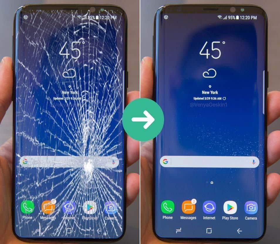 Thay kính Samsung giá rẻ - Chính hãng tại Hà Nội
