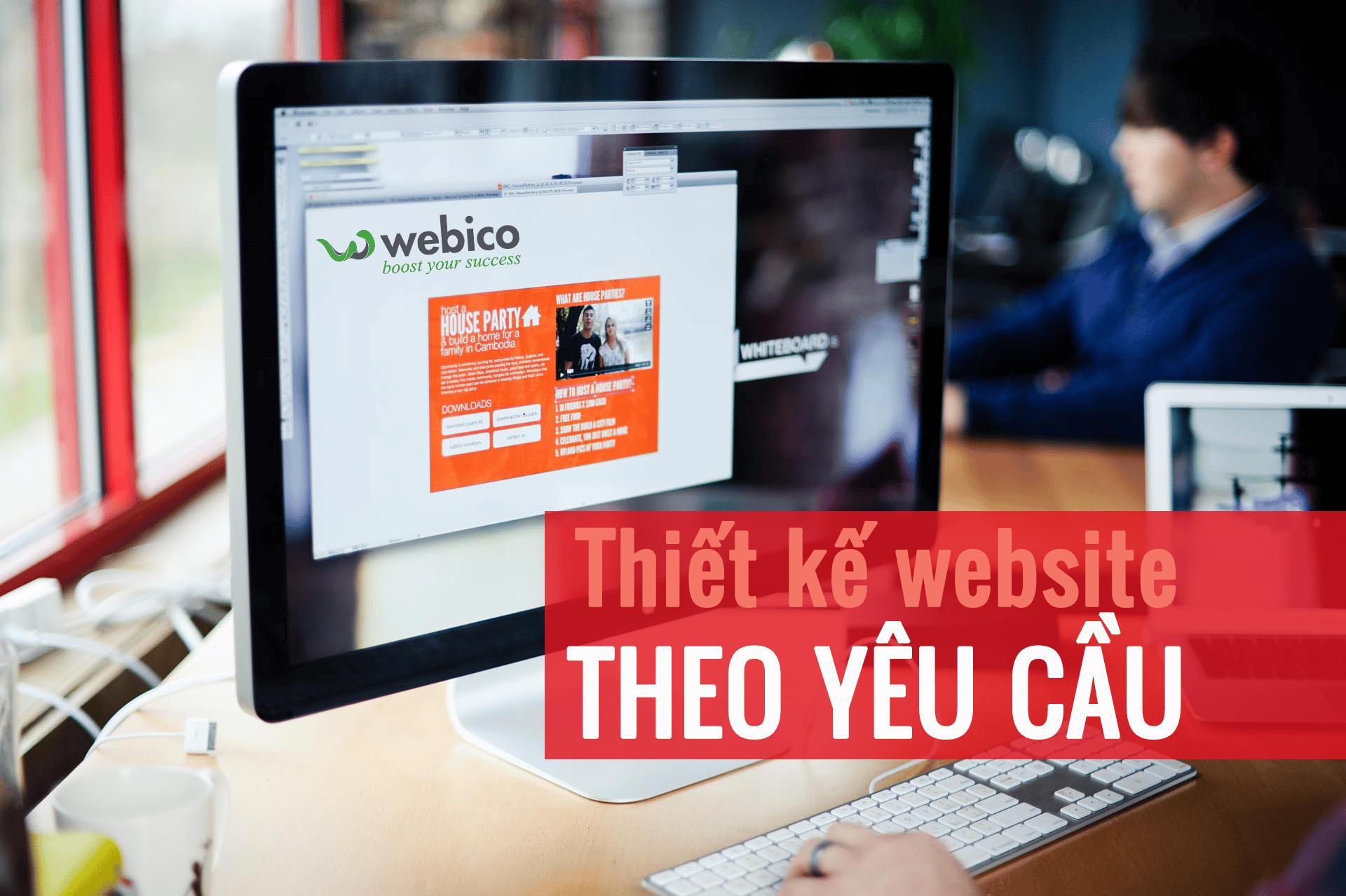Thiết kế website theo yêu cầu chuyên nghiệp và hiện đại