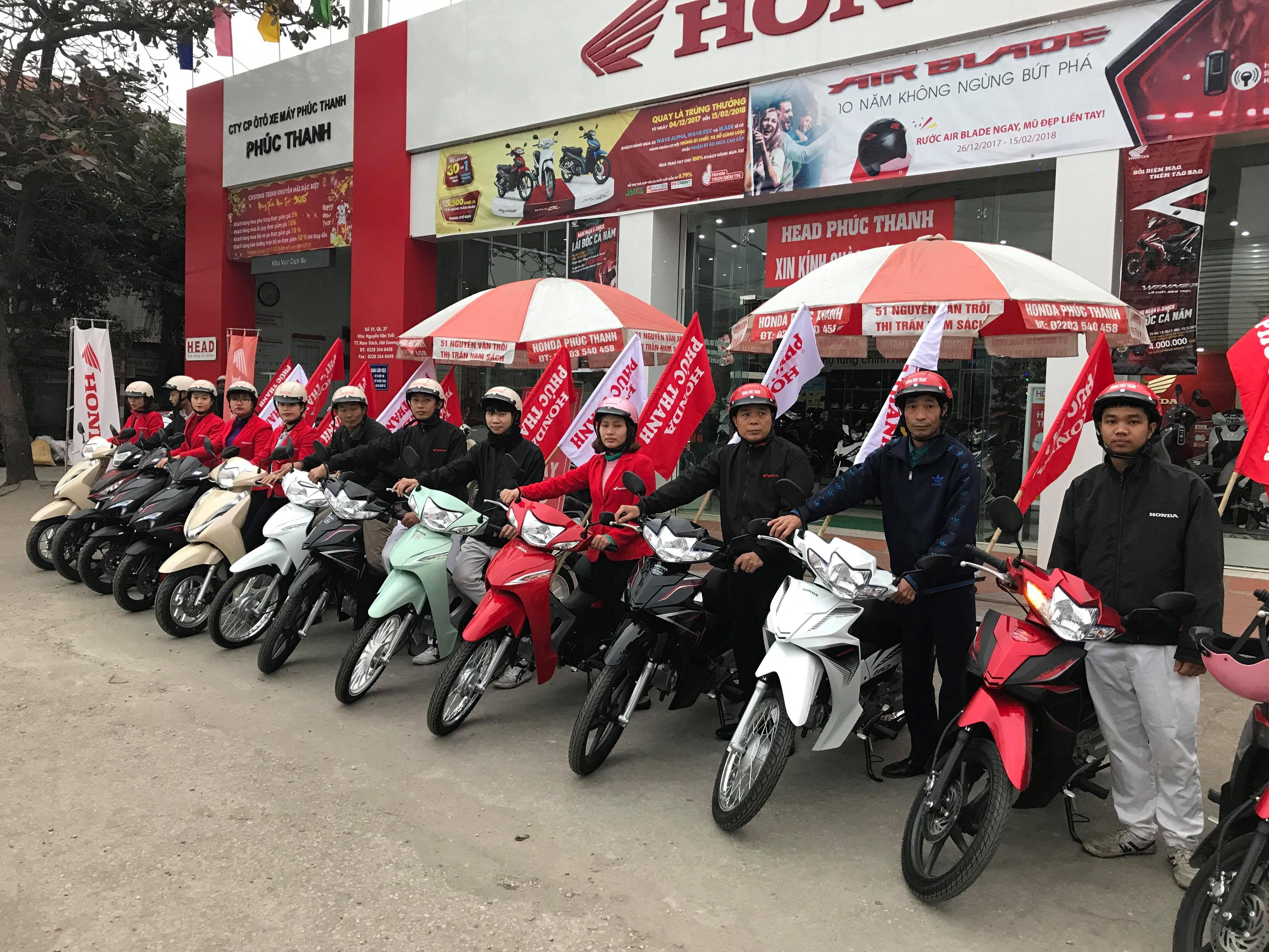 Honda Nam Sách | Honda Hải Dương | Xe máy Nam Sách - Honda Phúc Thanh