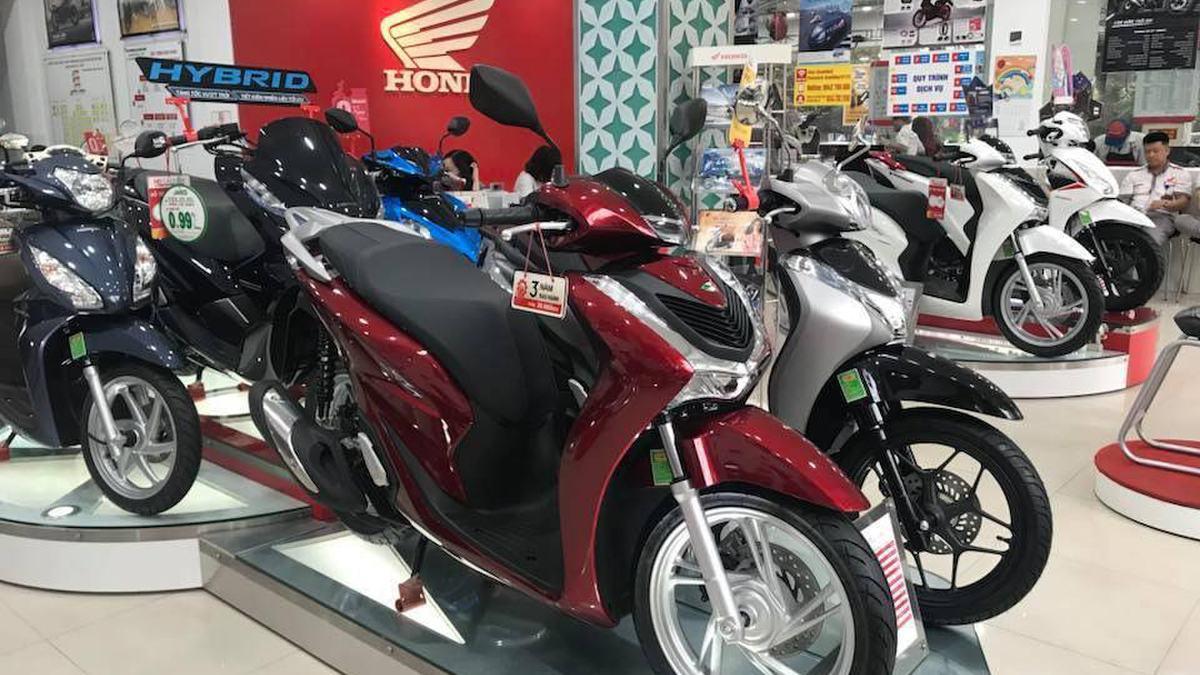 Bảng giá xe máy【Honda】tháng 11/2020 mới nhất tại đại lý!