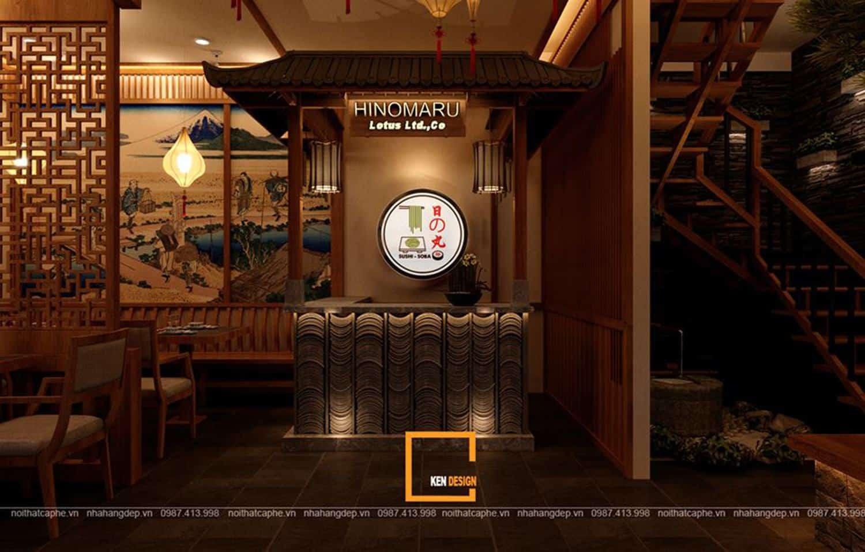 Gợi ý thiết kế nhà hàng Nhật Bản đẹp và ấn tượng   Kendesign
