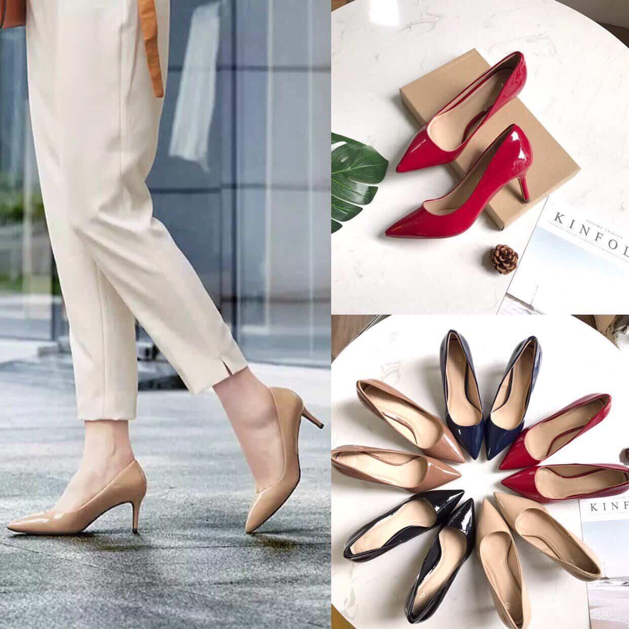 Tổng hợp 37+ mẫu giày cao gót đẹp 2020 sắp thành Trend - Hoàng Vũ