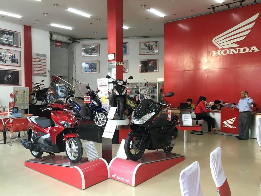 Quy trình mở đại lý xe máy Honda