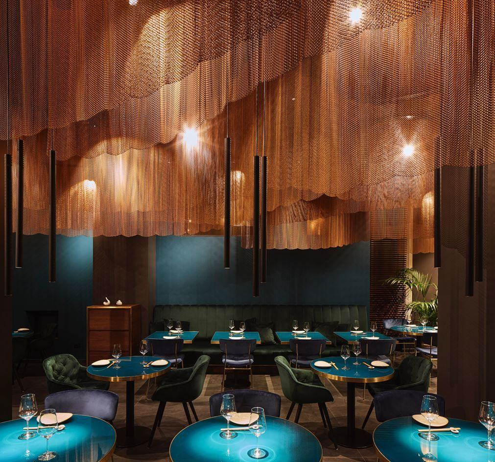 See my top of the most exclusive luxury restaurants design interiors, including Nishi…   Japanese restaurant interior, Luxury restaurant interior, Luxury restaurant