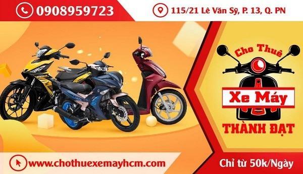 Địa chỉ thuê xe máy ở Sài Gòn giá rẻ, uy tín. Thuê xe máy ở đâu Sài Gòn (TP Hồ Chí Minh) chất lượng nhất?