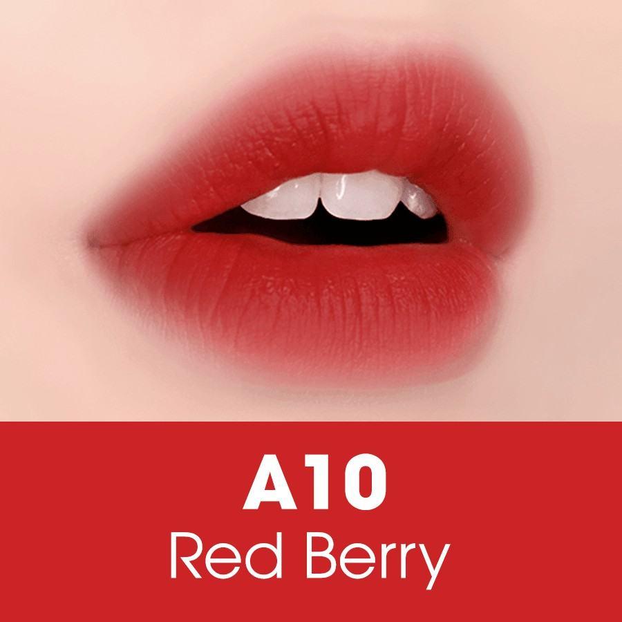 Son kem Black Rouge màu A10 – Red Berry: Đỏ berry   Shopee Việt Nam
