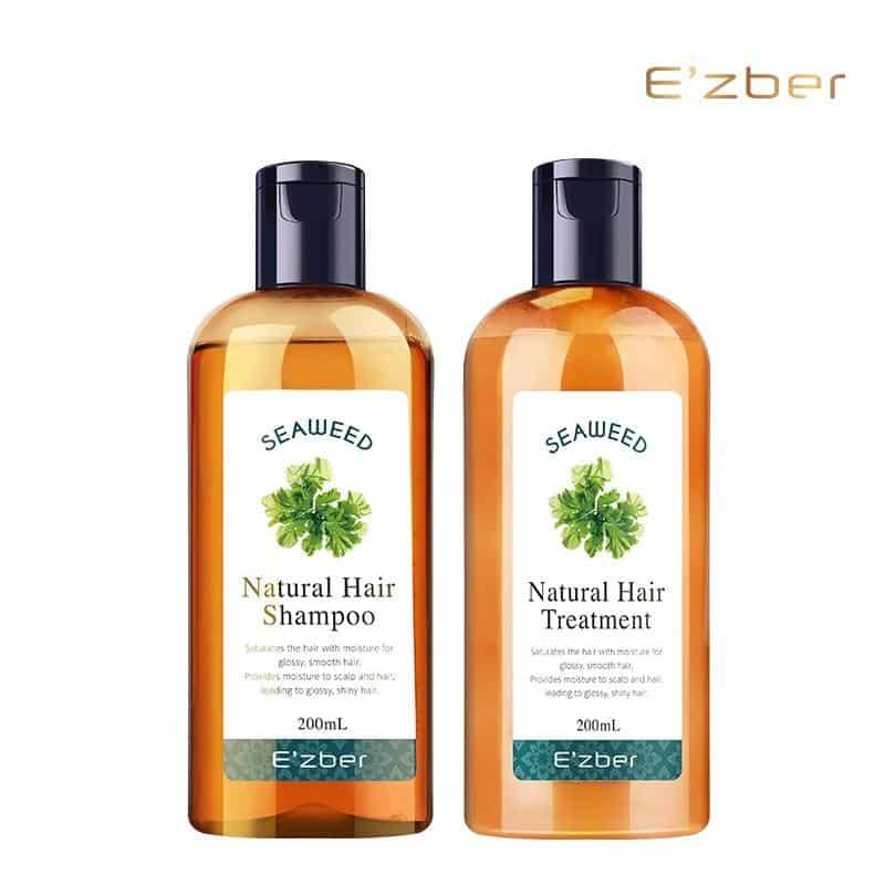 Dầu gội đầu shampoo thảo mộc từ thiên nhiên dưỡng và chăm sóc tóc bóng mượt thơm hương Tảo Biển Seaweed E'zber Nhật Bản | Shopee Việt Nam