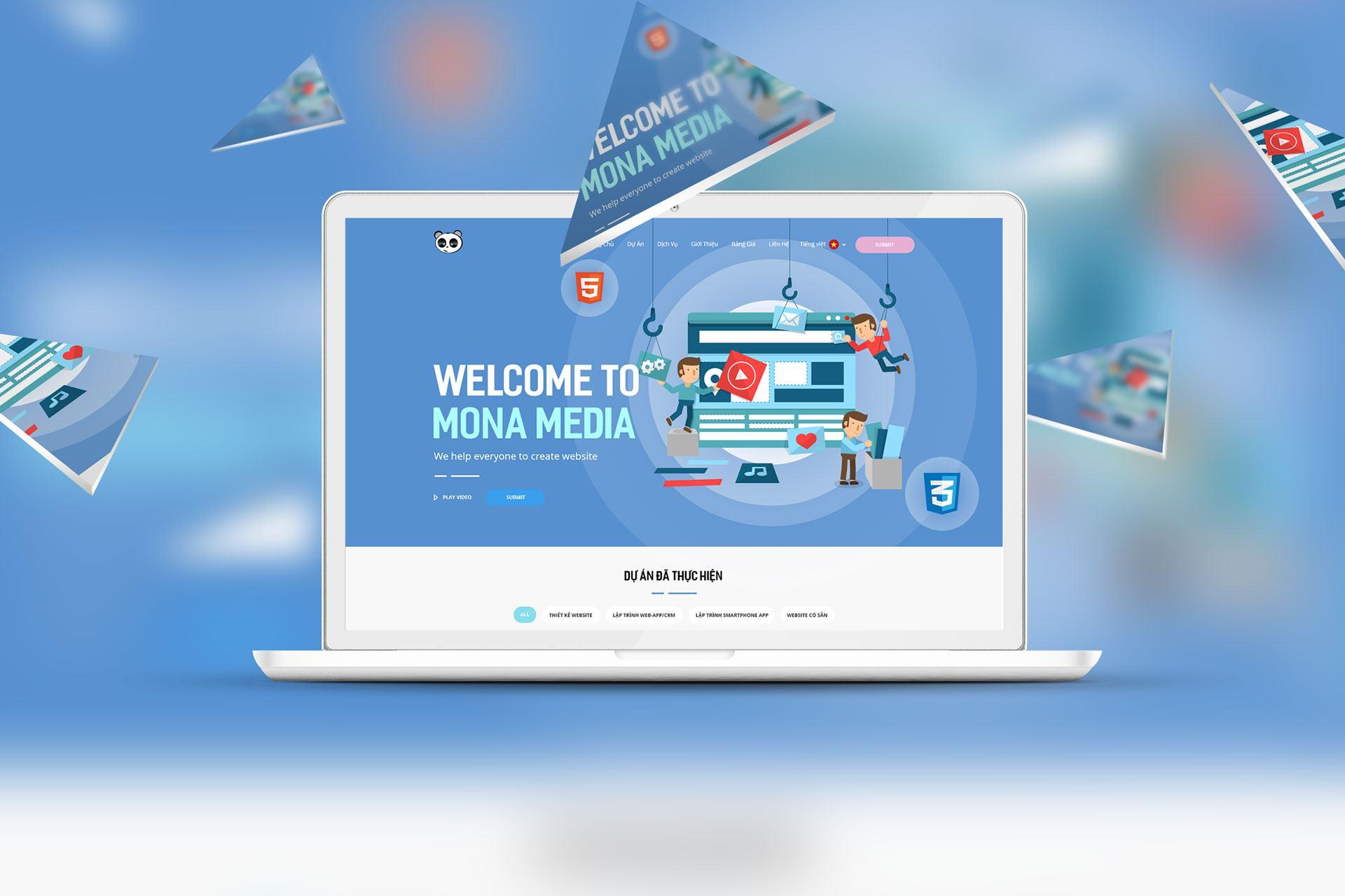 Mona Media – Công ty thiết kế website uy tín