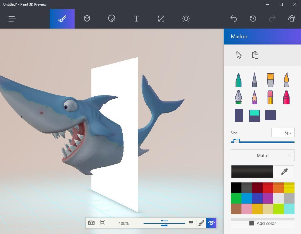 Phần mềm vẽ tranh 3d trên máy tính đơn giản free- Microsoft Paint 3D