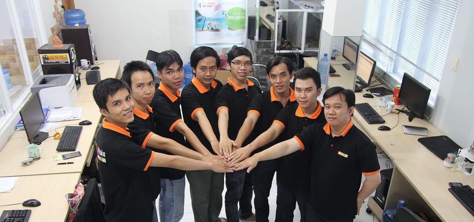 Sinh nhật 10 năm công ty thiết kế web TRUST.vn