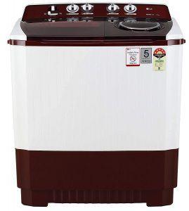 Lg 11 Kg 5 Star Semi Automatic Top Loading Washing Machine (p1145sraz, Burgundy, Punch + 3): Amazon.in: Home & Kitchen