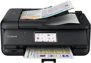 Amazon.com: Canon Tr8520 All In One Printer For Home Office |wireless | Mobile Printing | Photo And Document Printing, Airprint(r) And Google Cloud Printing, Black: Electronics