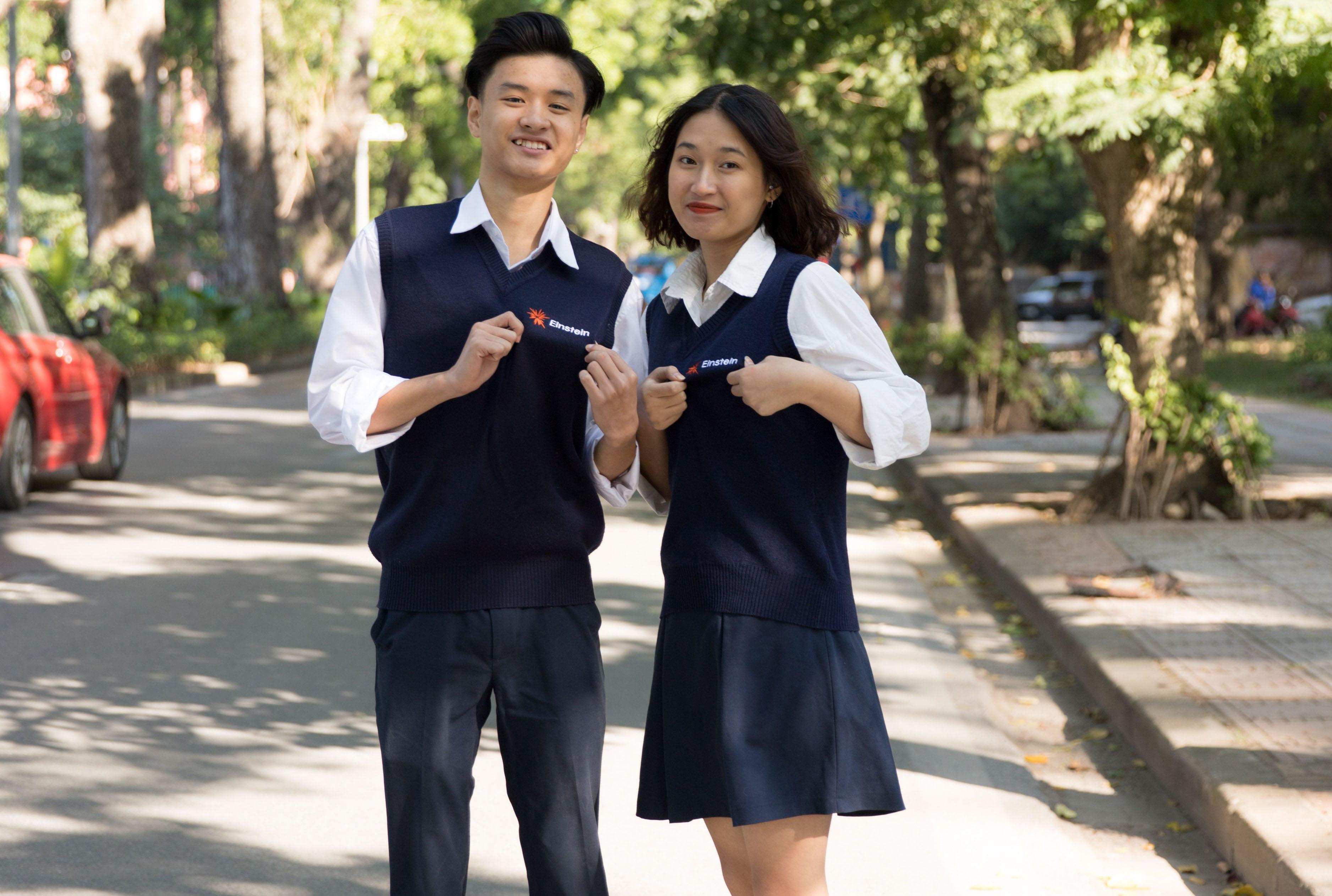 Đồng phục - Trường THPT Anhxtanh