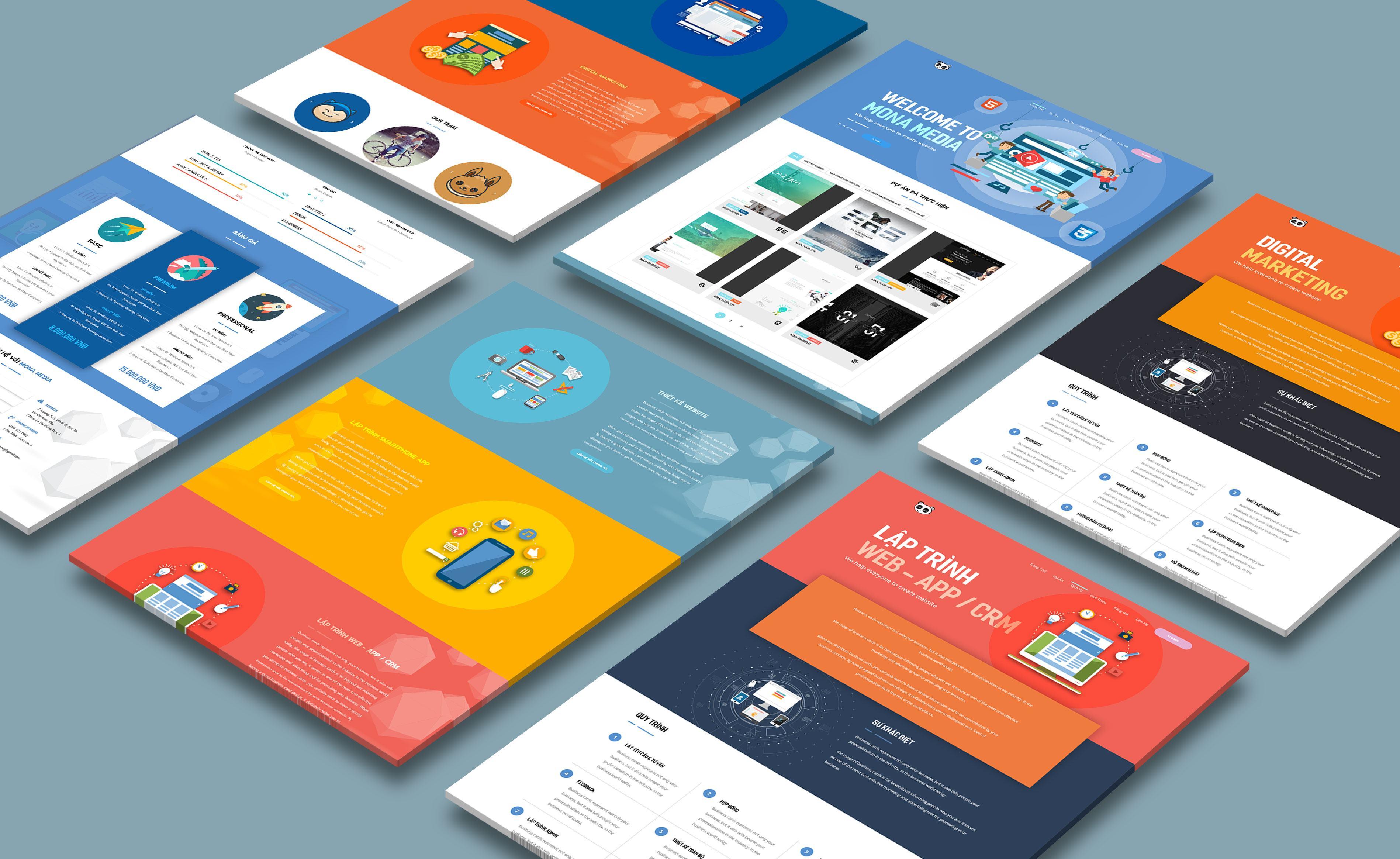Mona Media - Công ty thiết kế website cao cấp, chuyên nghiệp