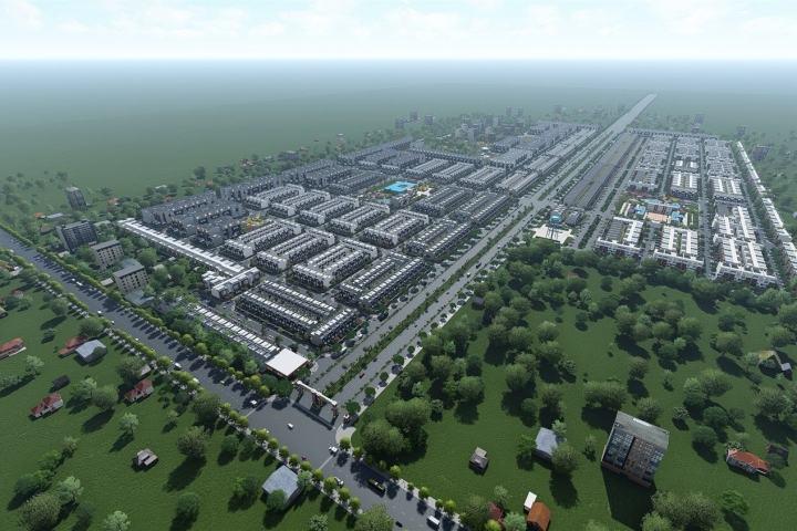 Dự án khu dân cư ấp Bình Phước