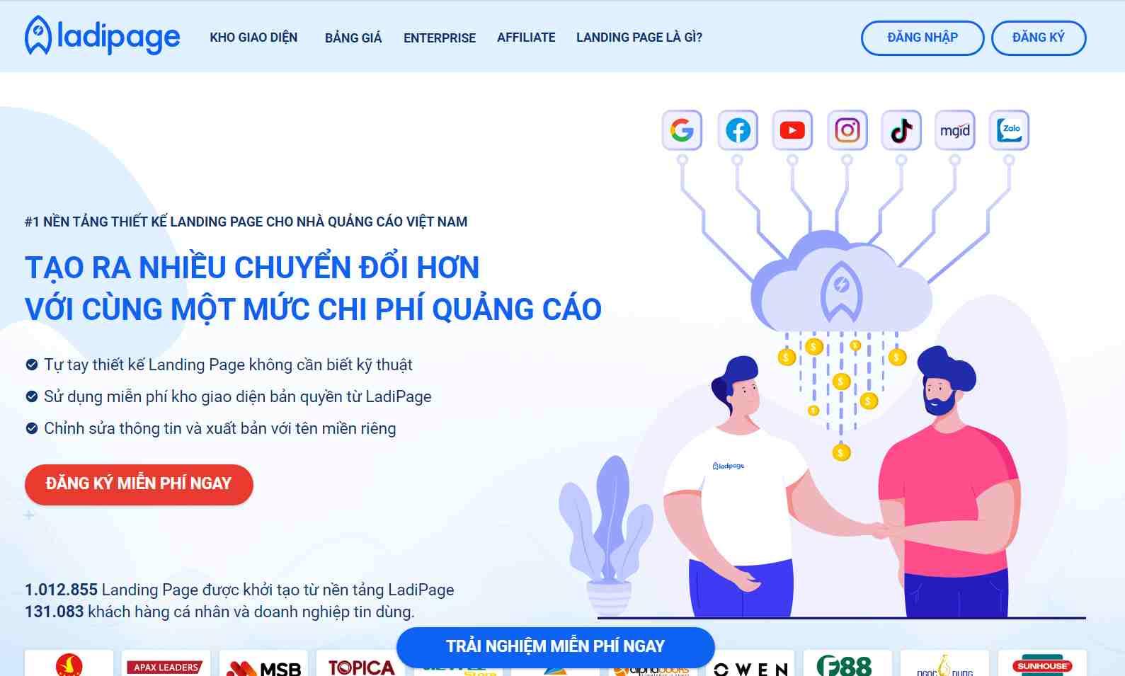 LadiPage là gì? Đánh giá tính năng LadiPage và hướng dẫn sử dụng - Nguyễn Văn Thắng