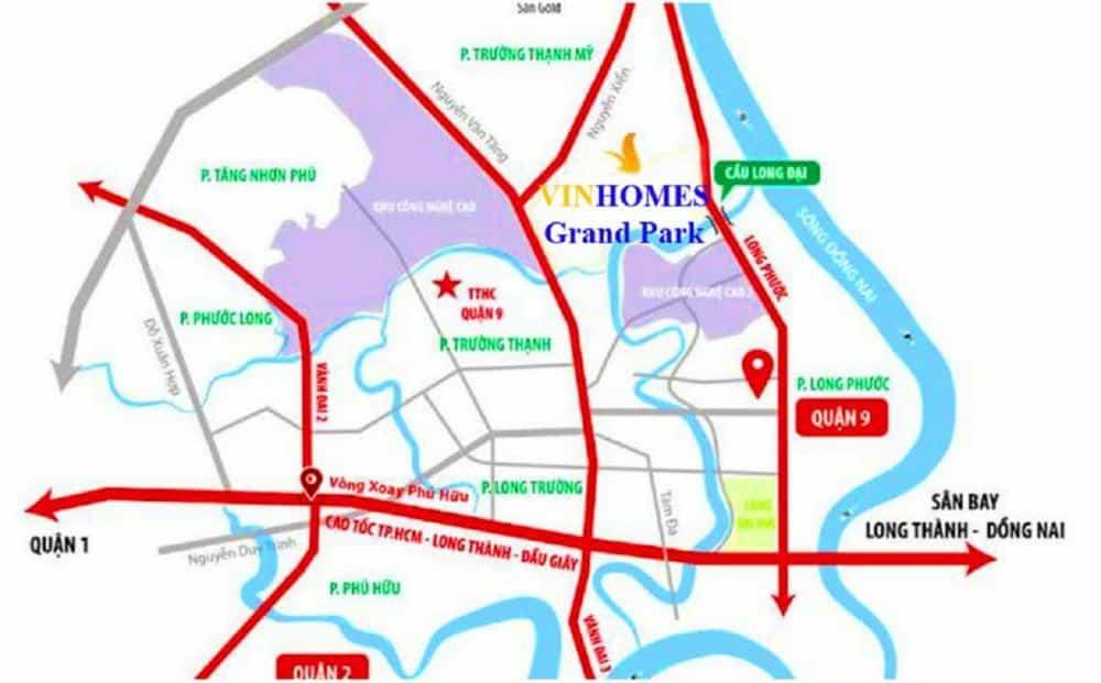Vi Tri Vinhomes Grand Park 1