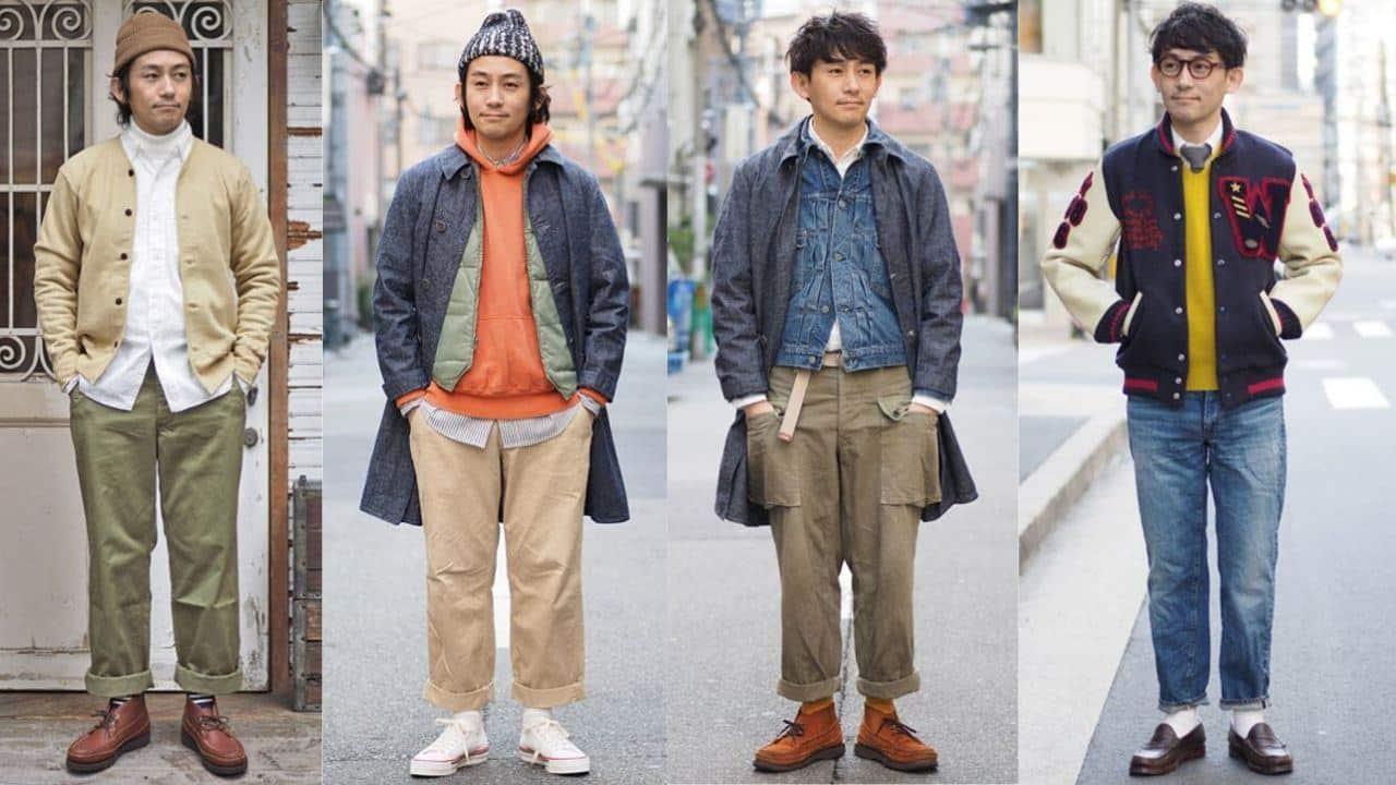 Phong cách thời trang Nhật Bản: Những thương hiệu mang dấu ấn Ametora |  ELLE Man