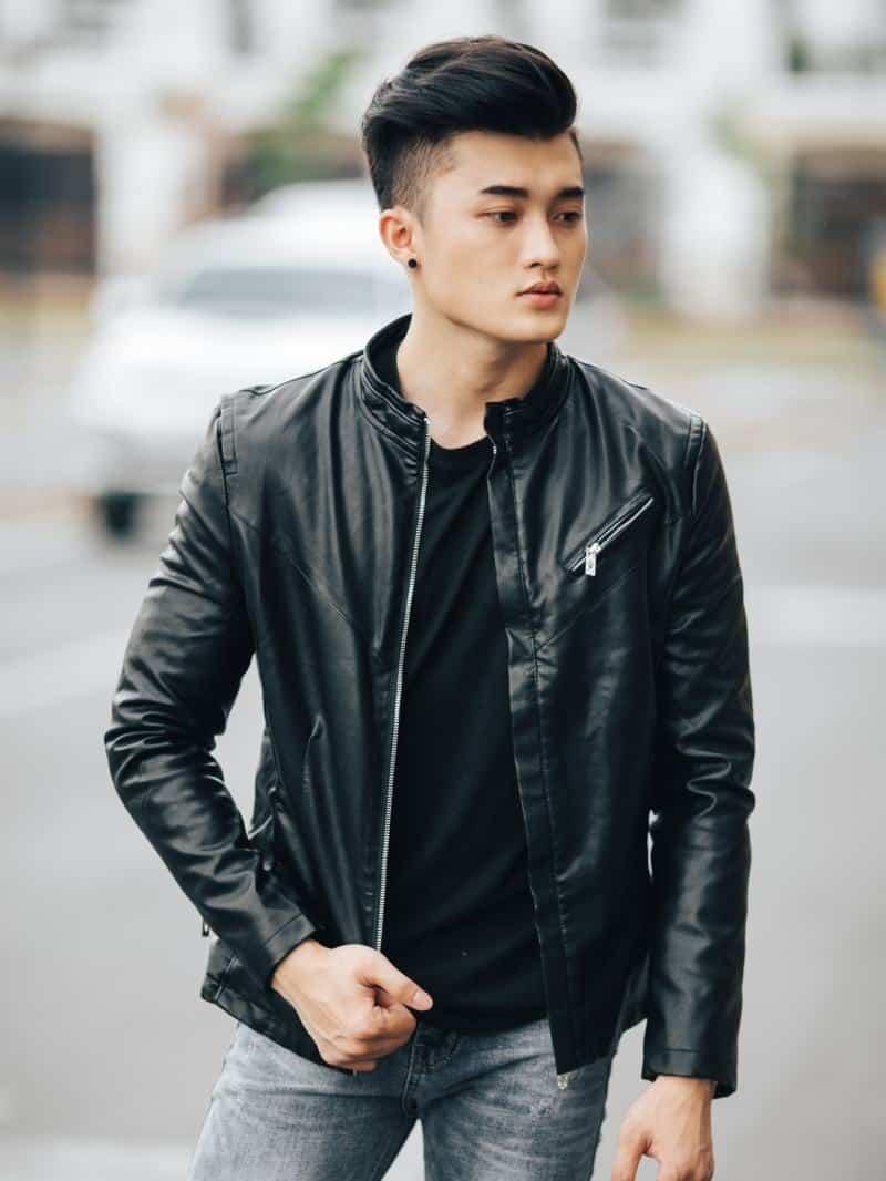 Áo khoác da nam Hà Nội uy tín