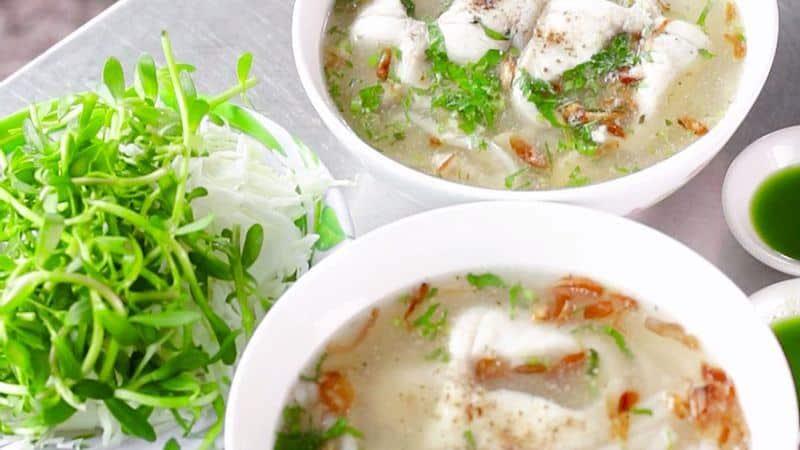 Kết quả hình ảnh cho Bánh canh cá lóc Đồng Quán