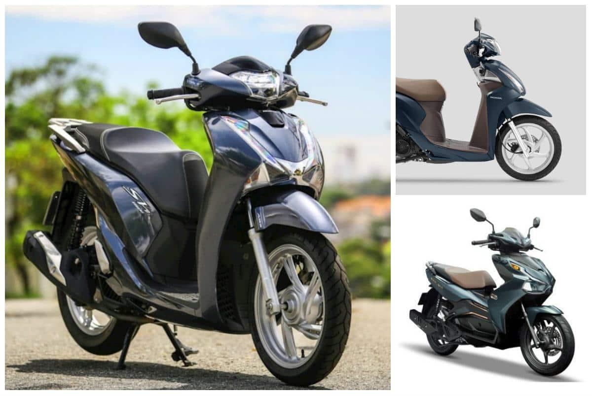 Loạt xe máy tăng giá đột biến, Honda SH đời cũ đội giá khó tin