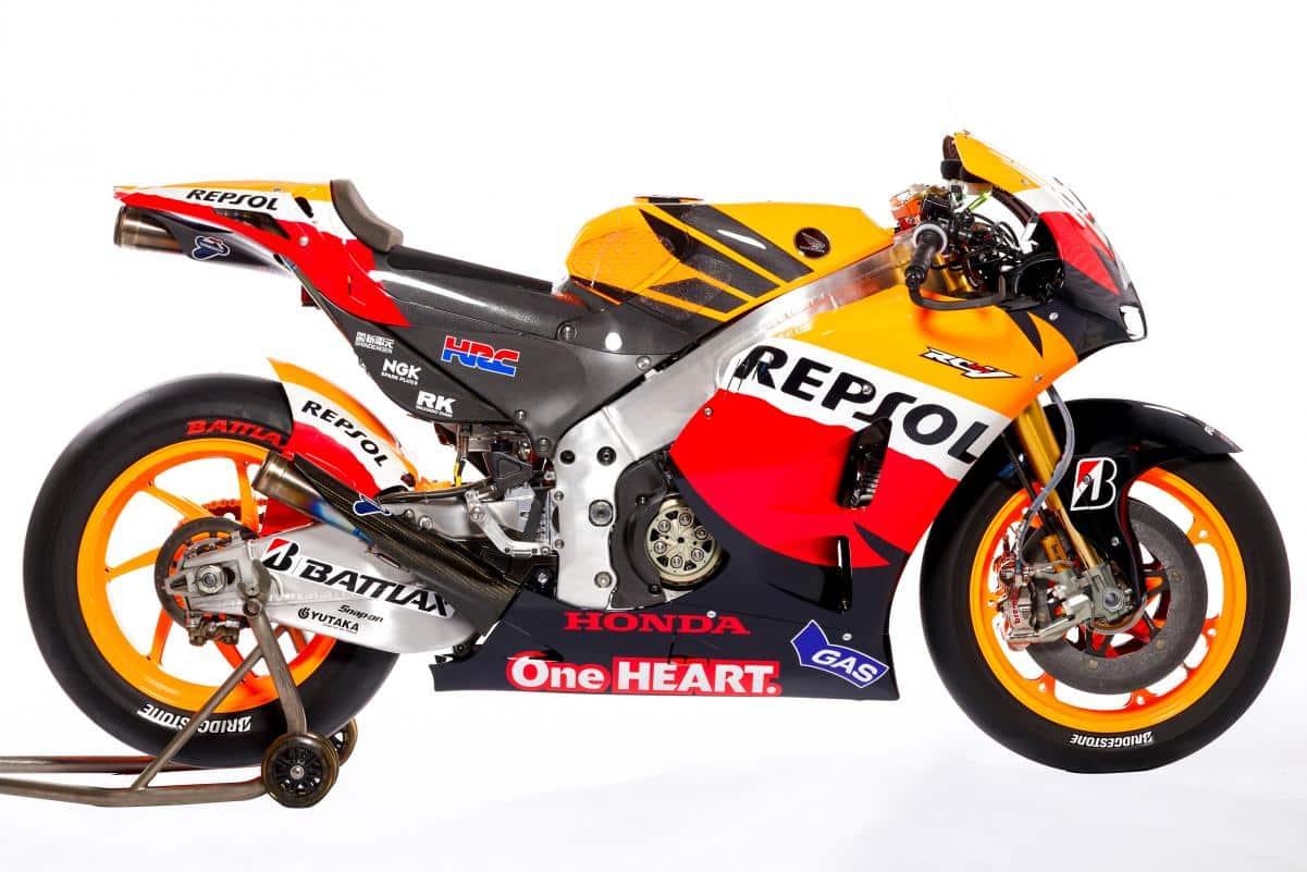 Repsol Honda bike evolution   MotoGP™