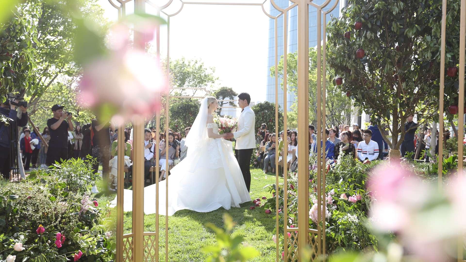 Romantic Wedding Fair at Bvlgari Garden | Bvlgari Hotel Beijing