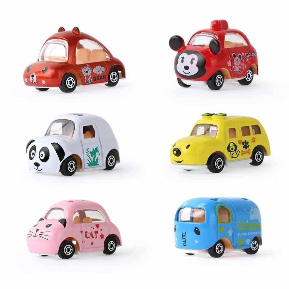 1 bộ 6 xe đồ chơi nhỏ dễ thương cho trẻ em   Shopee Việt Nam