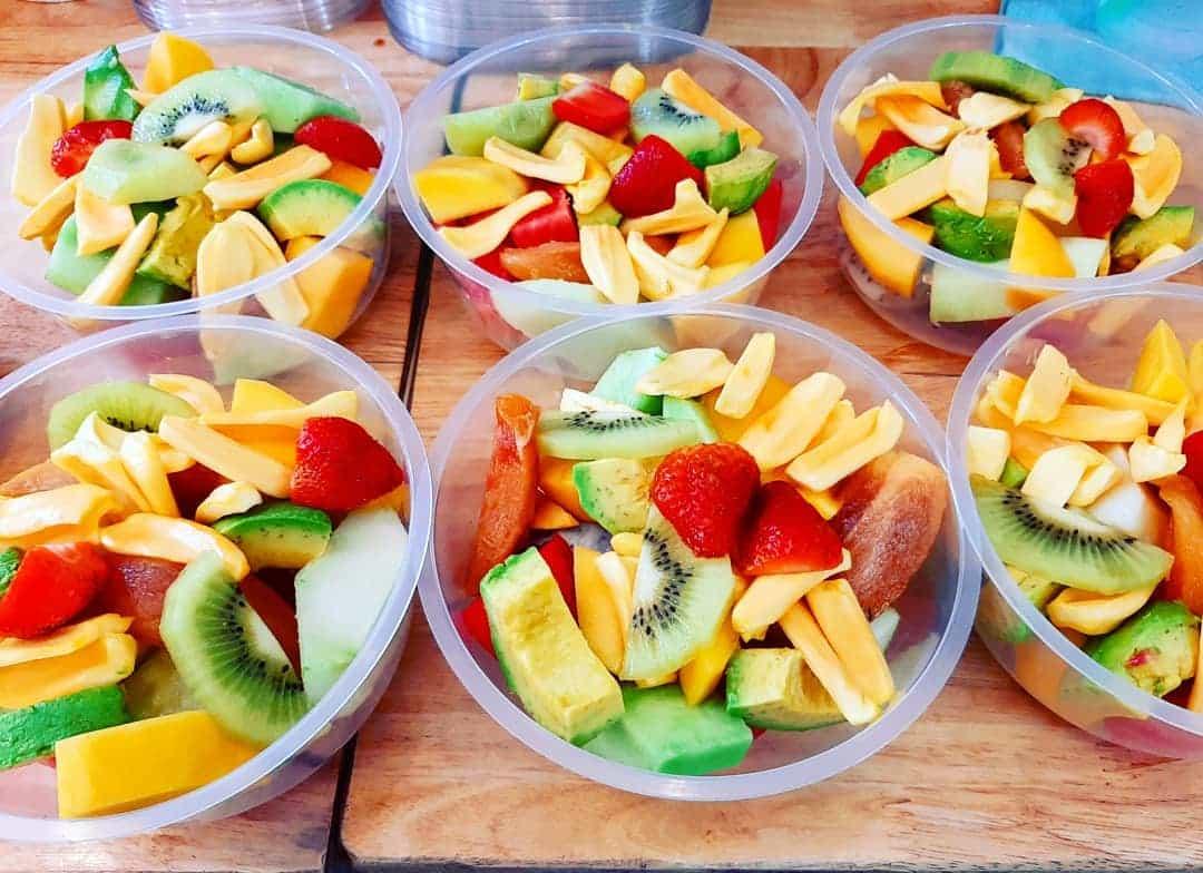 Top 8 quán trái cây tô ngon nhất ở TPHCM | Trái cây Vuông Tròn