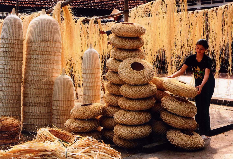 Làng mây tre đan Phú Vinh uy tín