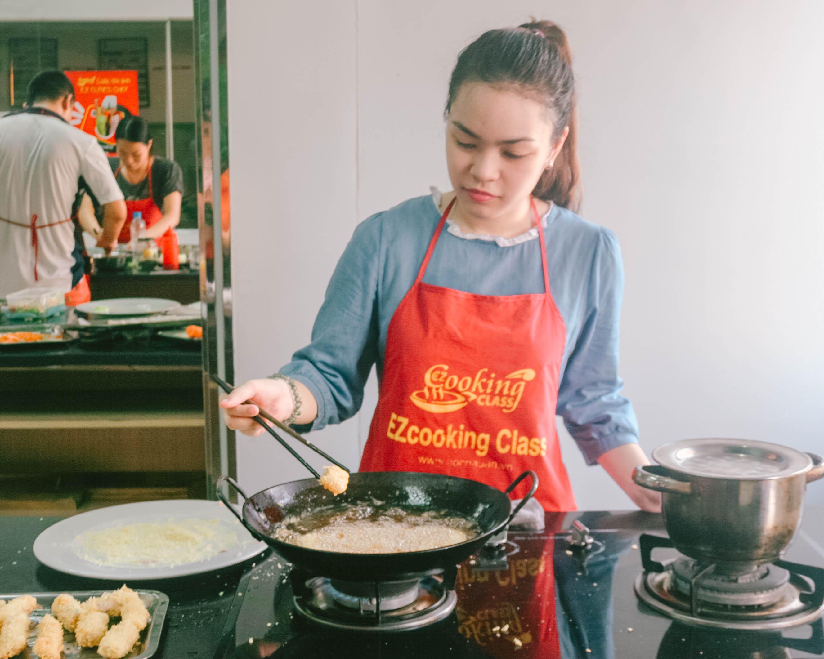 Trung Tâm DạyHọc nấu ăn tại Hà Nộiuy tín