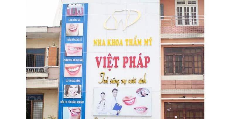 Nha khoa Việt Pháp là một trong những phòng khám nha khoa chất lượng tại Đà nẵng