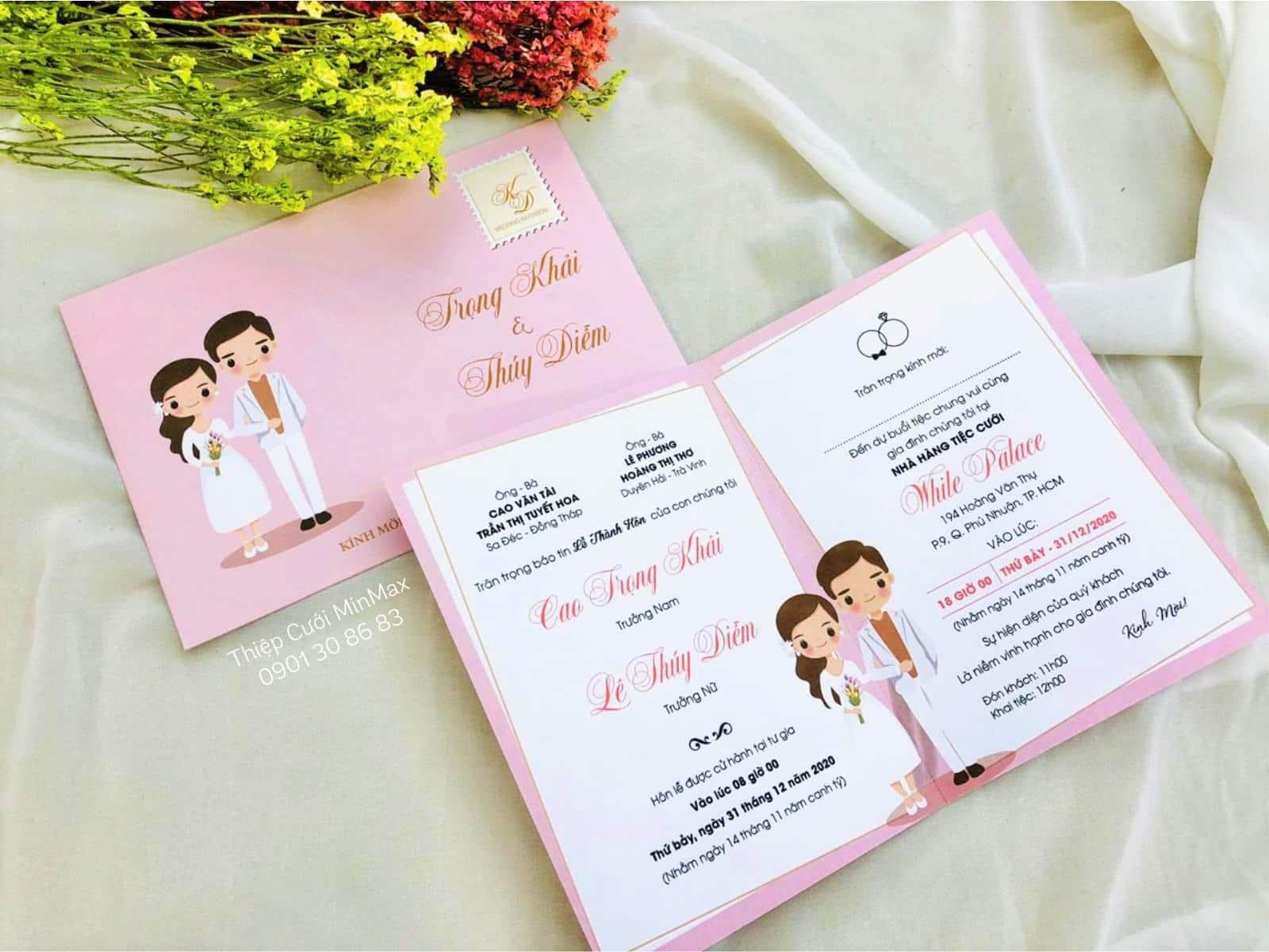 In thiệp cưới Đà Nẵng uy tín