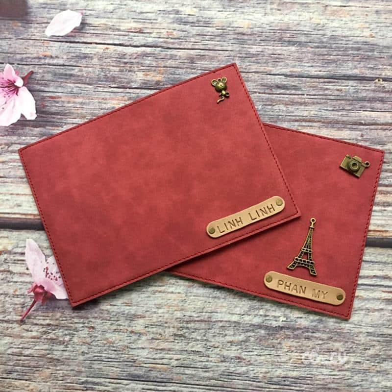 Ví đựng passport khắc tên, túi hộ chiếu bán chạy số 1 tại CRAFT & MORE  Craft & More Vietnam   Vintage Gift & Decor