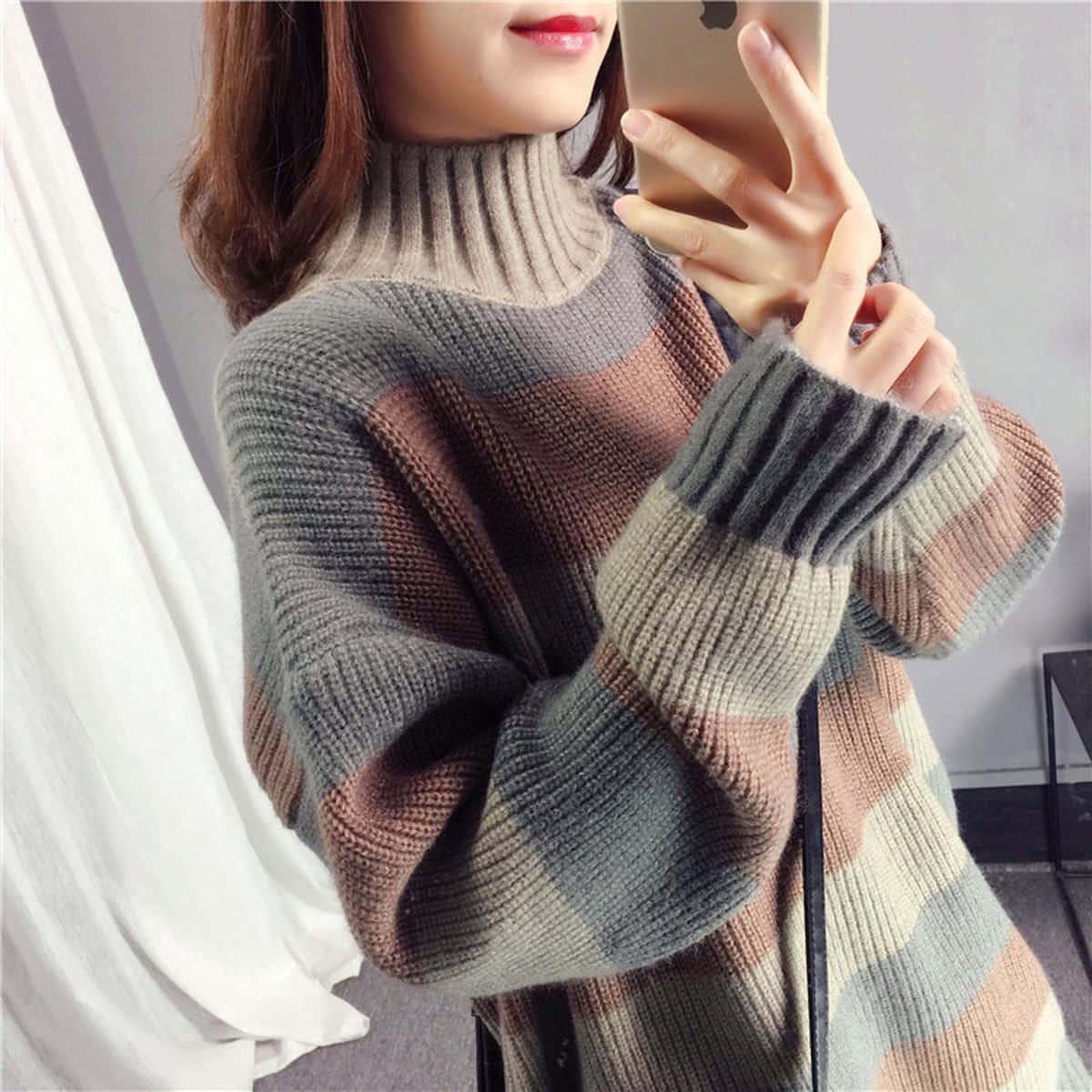Áo len nữ đẹp ở Hà Nộiuy tín
